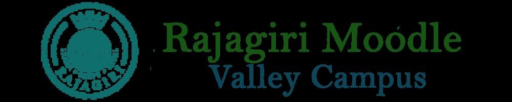 Rajagiri Moodle : Valley Campus